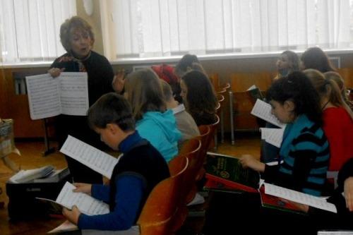 Музичний табір - школа №9
