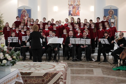 Різдвяний концерт - школа №9