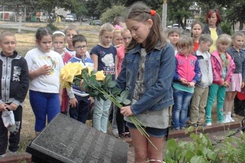 День скорботи і вшанування пам'яті жертв війни - школа №9