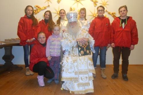 Учні нашої школи у резиденції Святого Миколая - школа №9