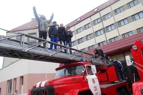Відвідування пожежної частини - школа №9