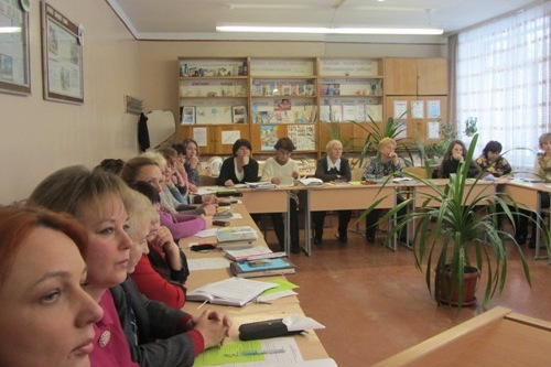 Засідання педагогічної ради - школа №9