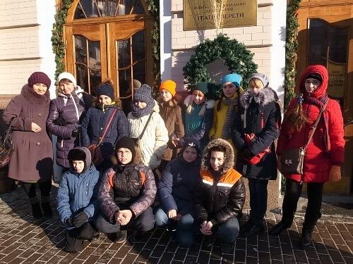 Екскурсія до Київського національного академічного театру оперети - школа №9