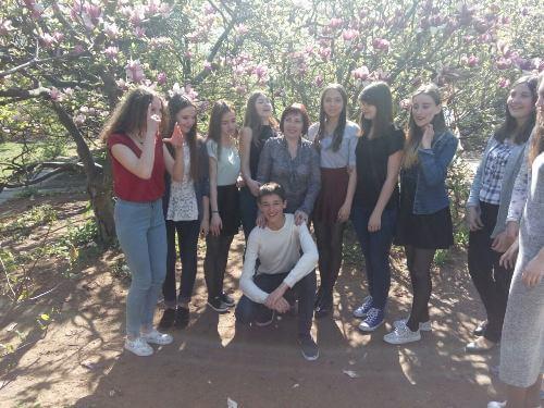 Екскурсія у Національний ботанічний сад ім. О. В. Фоміна - школа №9