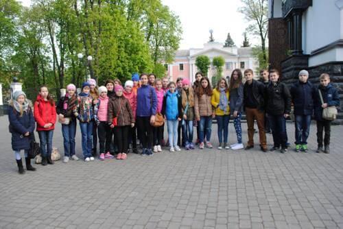 Екскурсійний тур «Знайомство з перлинами Поділля» - школа №9