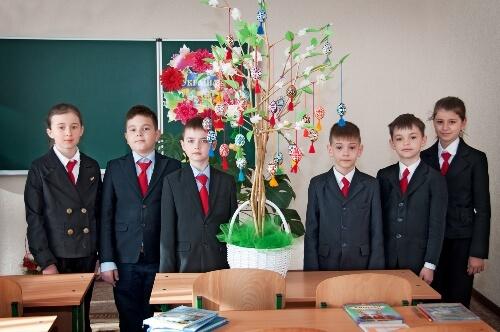 Майстер-класи «Великодня писанка власноруч!» - школа №9