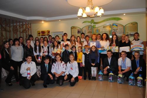 Участь у благодійній акції - школа №9