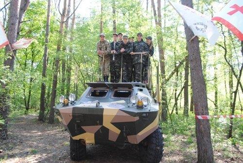 Участь у військово-патріотичній грі «Сокіл - Джура» - школа №9