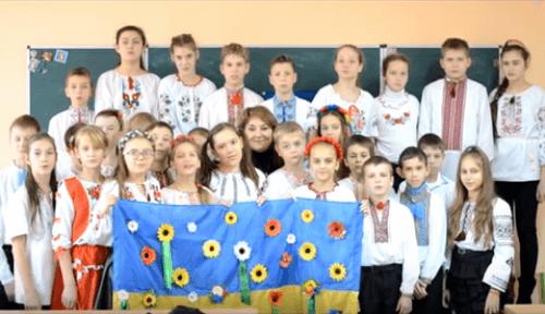 відеозвернення на підтримку воїнів АТО - школа №9